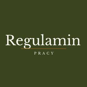 wzór regulaminu pracy