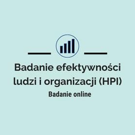 Badanie efektywności ludzi i organizacji HPI