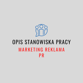 opisy stanowisk - marketing asystent